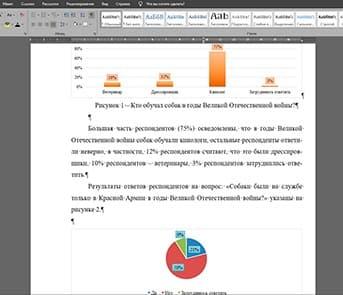 Анализ данных социологического опроса как продукт проктной деятельности